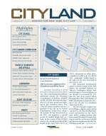 The first CityLand issue - October 15, 2004.