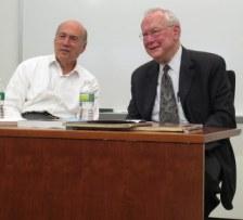 Edgar Lampert and Don Elliott