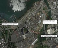 Map of planned phases for Willets Point proposal (click to view larger image). Image Credit: Google.