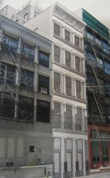 Rendering of restoration and additional stories at 29 Greene St., Manhattan. Image Credit: Gertler & Wente Architects.