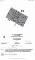 Diagram of rezoning area in the Special Clinton District in Manhattan. Image credit: CPC.