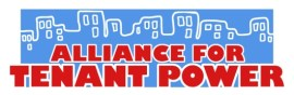 Alliance for Tenant Power campaigns for rent regulation changes in Albany.  Image Credit: Alliance for Power.