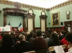 The City Council holds an oversight hearing on NYCHA's public-private partnership agreement.  Image credit:  CityLand