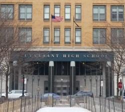 Stuyvesant High School in Manhattan. Image credit: CityLand