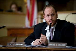 Councilmember David Greenfield, chair of the Committee on Land Use . Image credit: William Alatriste/New York City Council