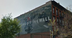 Department of Buildings ruled this sign at 302 Metropolitan Avenue was illegal. Image credit: Google