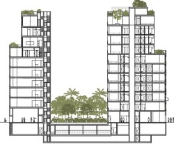 Architectural rendering of The Jardim. Image credit: Office of Environmental Remediation/Centaur Properties