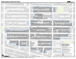 Map of the approved Bedford Historic District. Image credit: LPC
