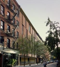 Proposed building at 14 Cornelia Street. Image credit: Kilment Halsband Architects