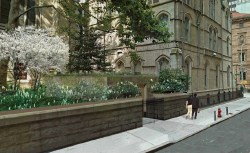 Architect rendering of the St. Patrick's Cathedral modification. Image credit: