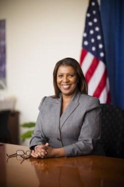New York City Public Advocate Letitia James. Image credit: The Office of the New York City Public Advocate