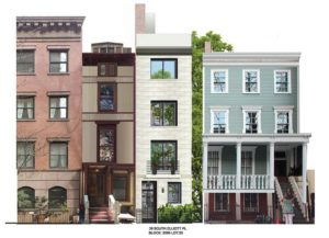 Rendering of 39 South Elliot Place. Image Credit: