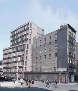 Rendering of 363 Lafayette Street in Manhattan. Image Credit: LPC.