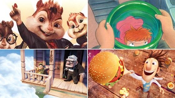 Academy Announces Names Of The Nineteen Movies That Will Lose To Up For Best Animated Feature