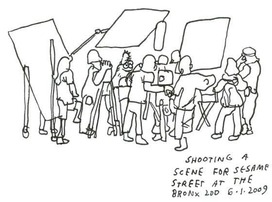Artist Jason Polan Plans to Draw Every Single Person in