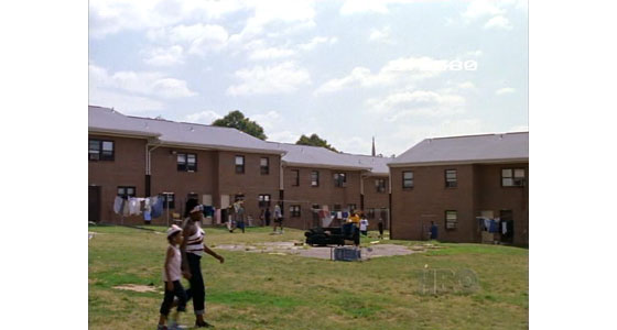 The Wire's Low Rise Apartment complex - centre for drug trade