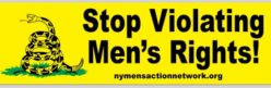 Be a NY MAN! NY Men's Action Network
