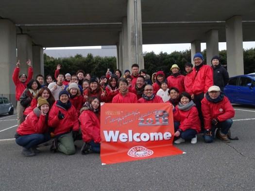 NYMM 2018 staff