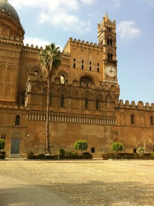 The Palermo Cathedral was erected in 1185