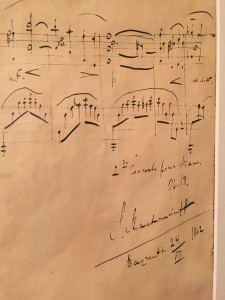 Rachmaninoff's Score