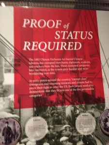 Chinese American Exhibit: Exclusion/Inclusion
