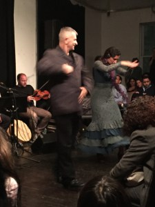 Flamenco dancers: Ramzi Eledlebi and Barbara Martinez