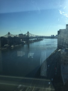 The East River viewed from my eleventh floor hospital room