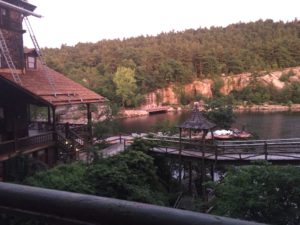 Overlooking Mohonk Lake