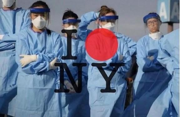防護服で医療従事者を守れ、ファッションガールズ・フォー・ヒューマニティ