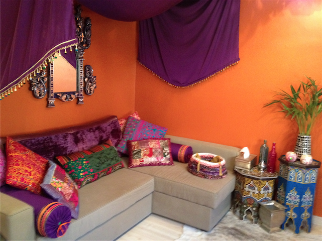 Moroccan Sofabed Transformation