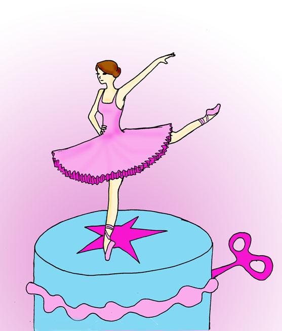 Ballerina Dancer in the Music Box