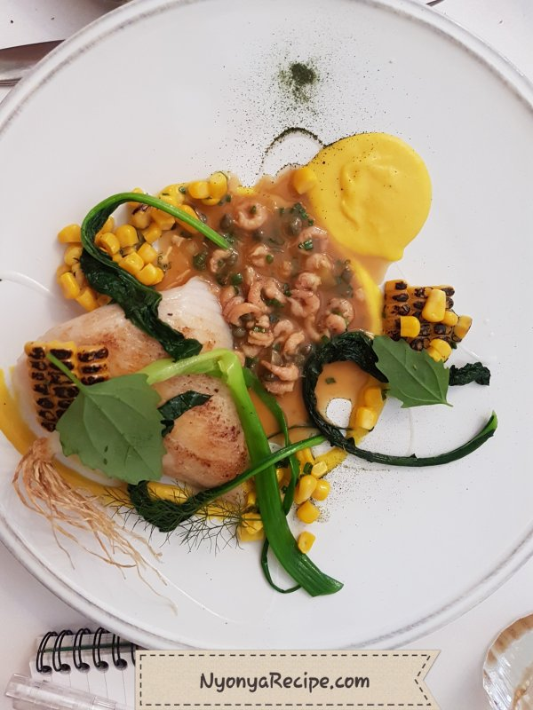 sweet corn, skate, John House, Mountsorrel,