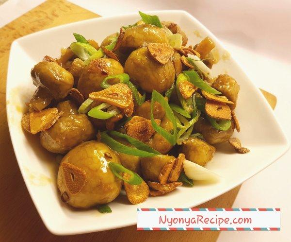 Honey, Chinese, easy, garlic crisps