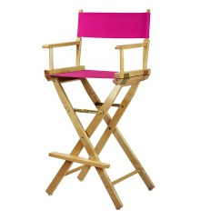 Directors Chair Bar Stool Green Patio Chairs Stools Height Magenta For Rent Party