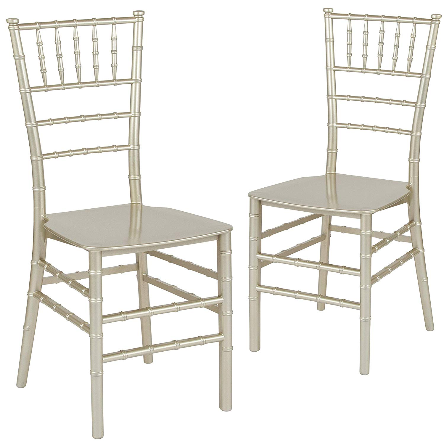 Party Chair Rentals D Stackable Chiavari Ballroom Chair Champagne