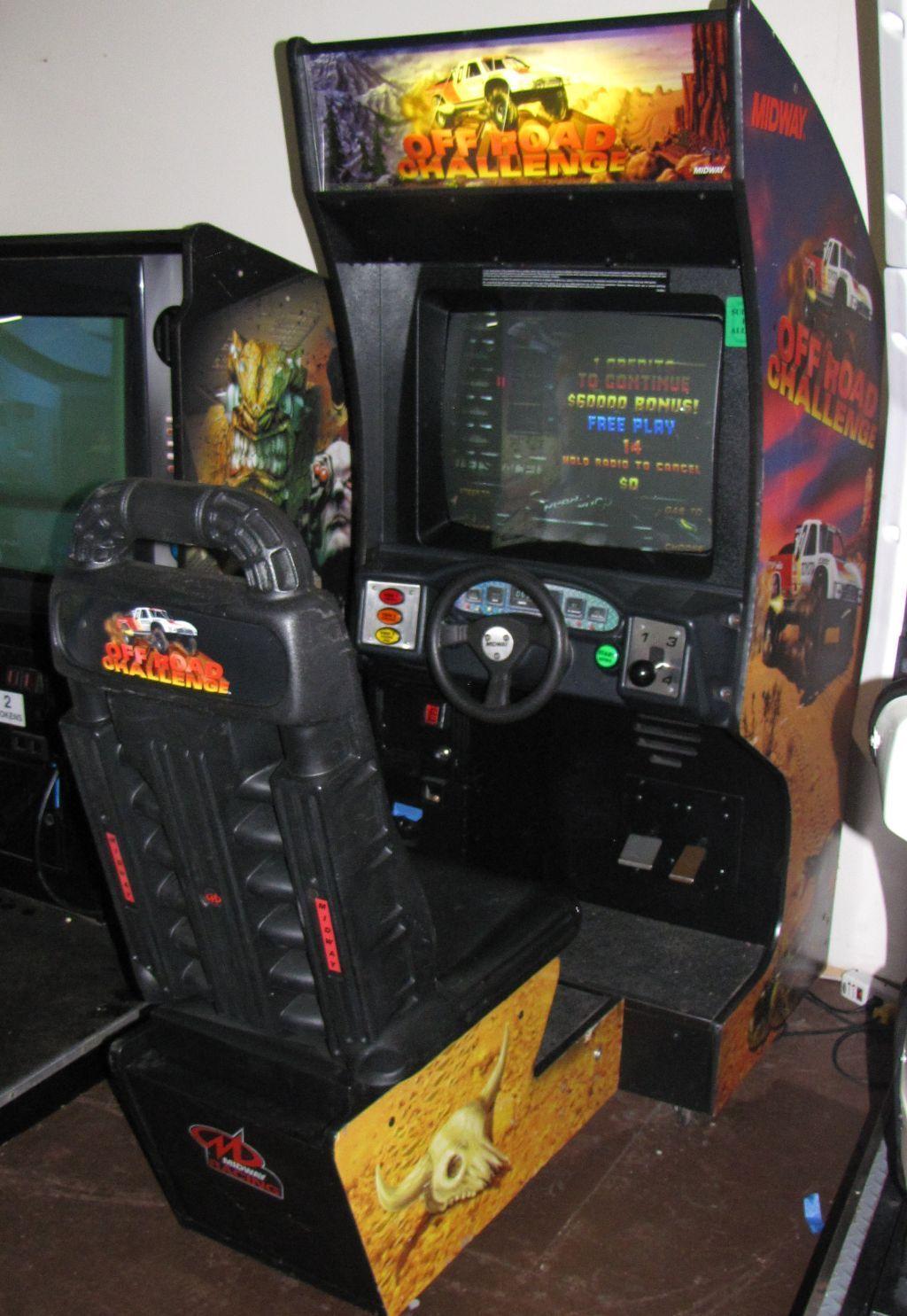 Off Road Challenge  Arcade Party Rental