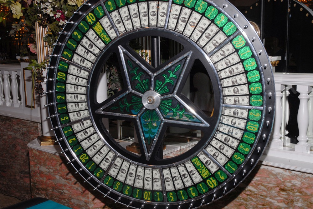 Money Wheel  Casino Party Rental From NY Party Works