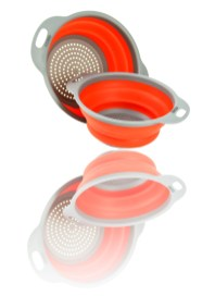 Strainers with reflection