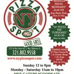 NY Pizza Spot Menu 1