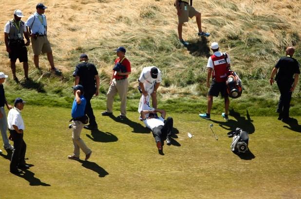 Jason Day collapses at US Open with vertigo