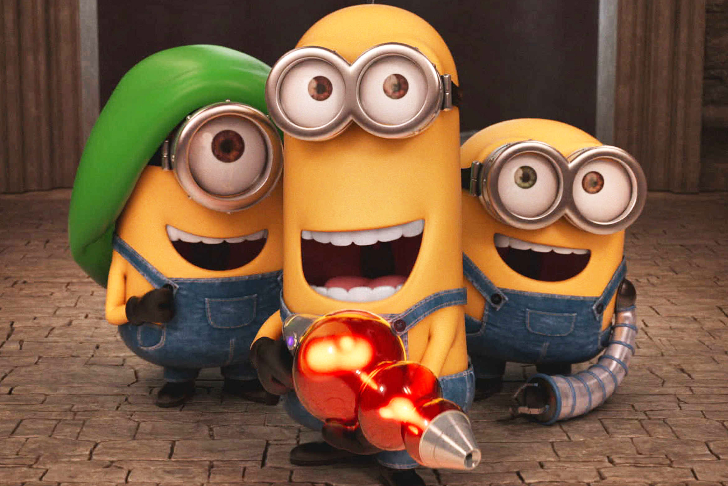 Minions Is Like Trying To Make A Band With 3 Ringos
