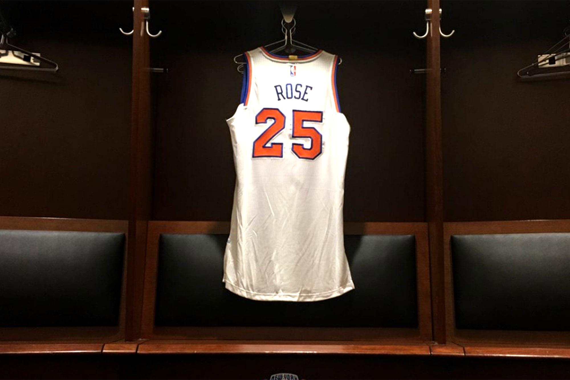 The sad story behind Derrick Rose's Knicks jersey number