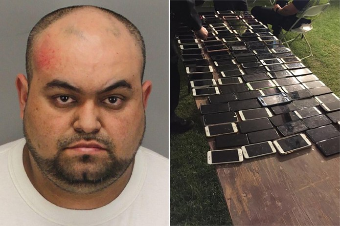 Man accused of stealing over 100 cellphones at Coachella