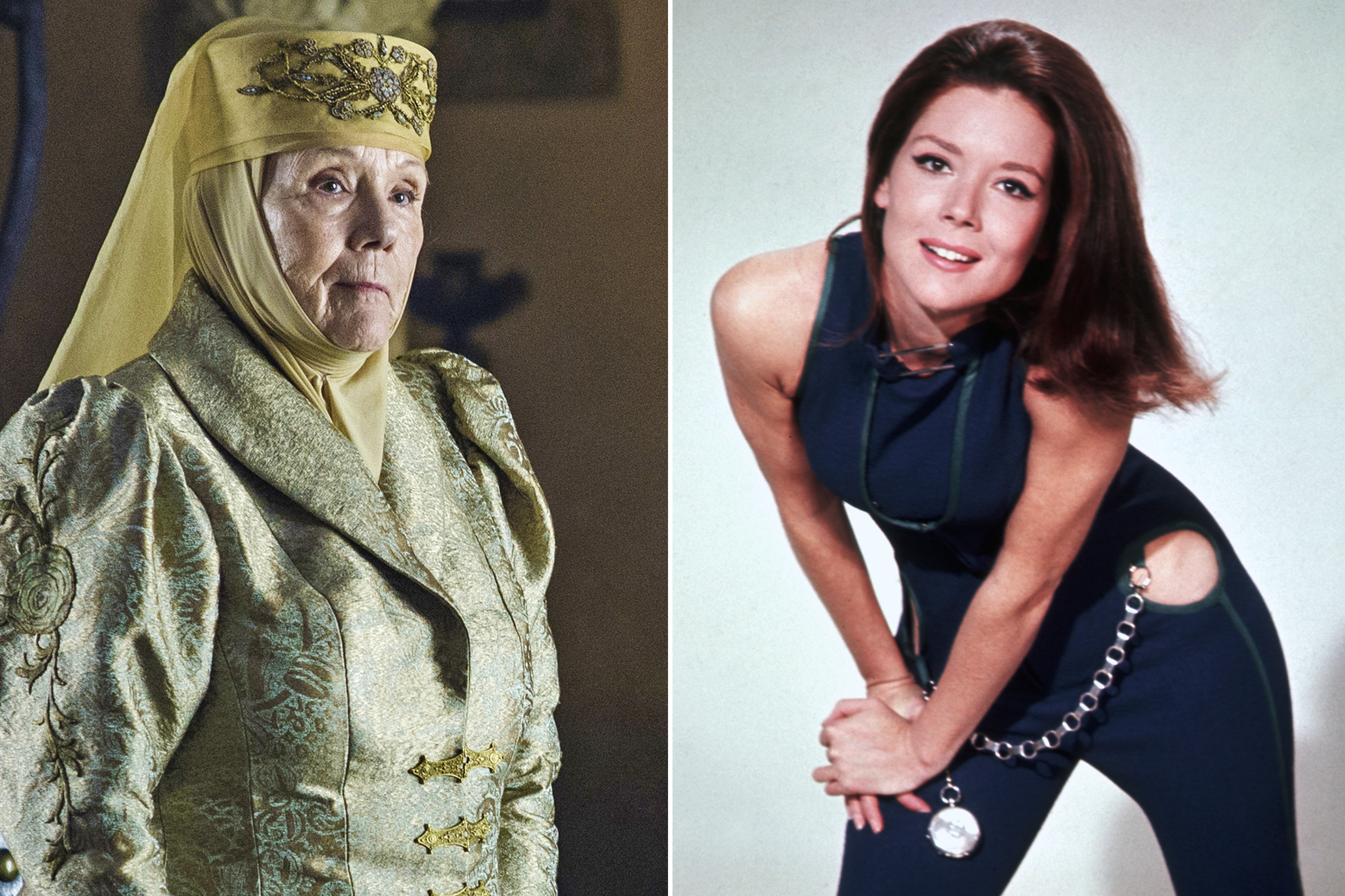 diana rigg had to deal with awful male fans early in her career diana rigg had to deal with awful male