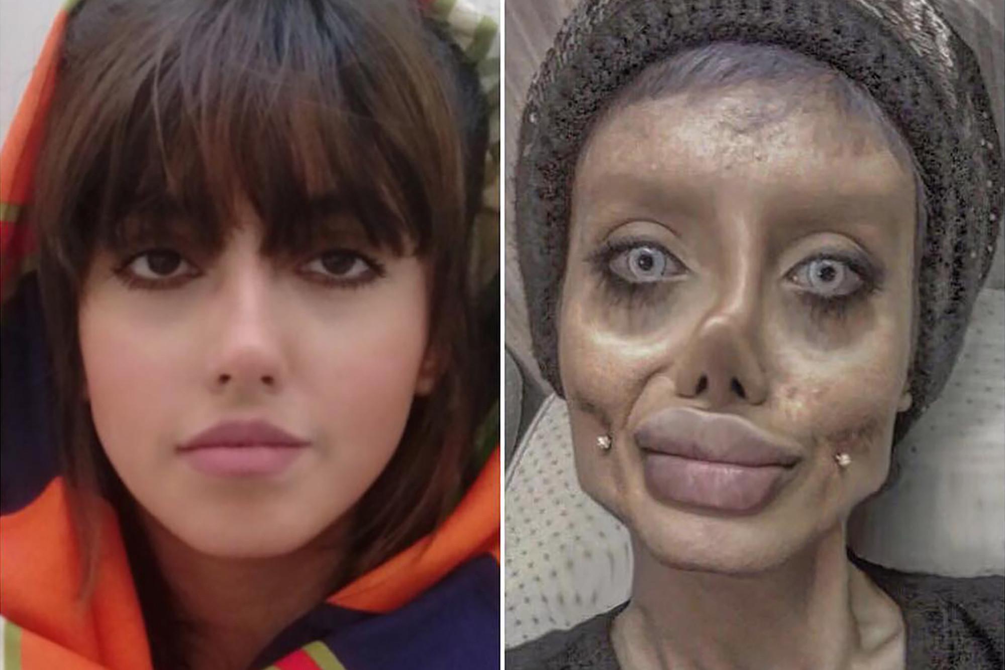 Angelina Jolie Porn Look A Like zombie' angelina jolie reveals what she actually looks like
