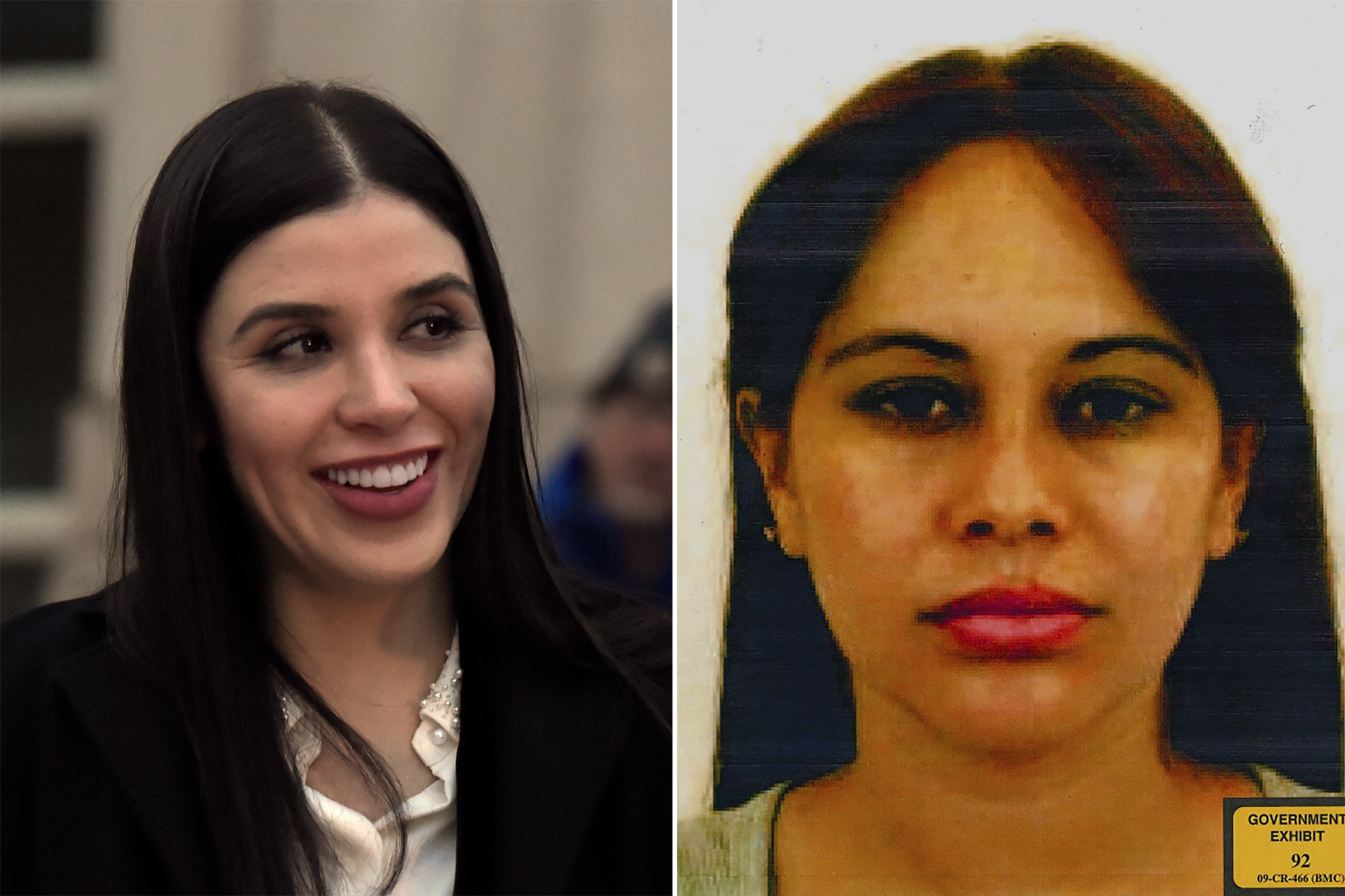 El Chapo's wife laughs as his mistress weeps on the stand
