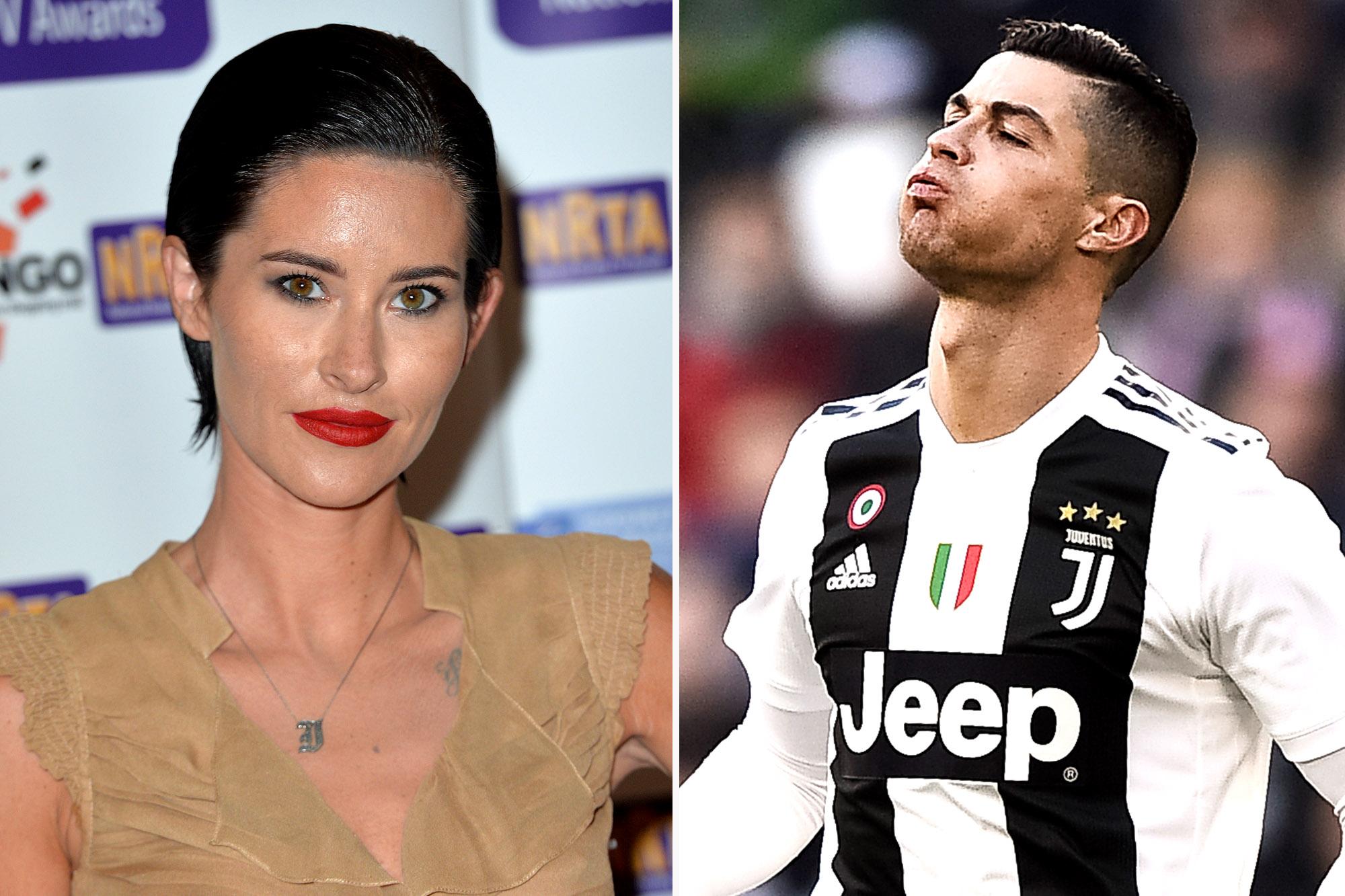 Ex-girlfriend Jasmine Lennard: Ronaldo threatened to 'have my body cut up'