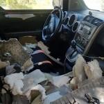 Bear Somehow Gets Inside Car Absolutely Wrecks Interior