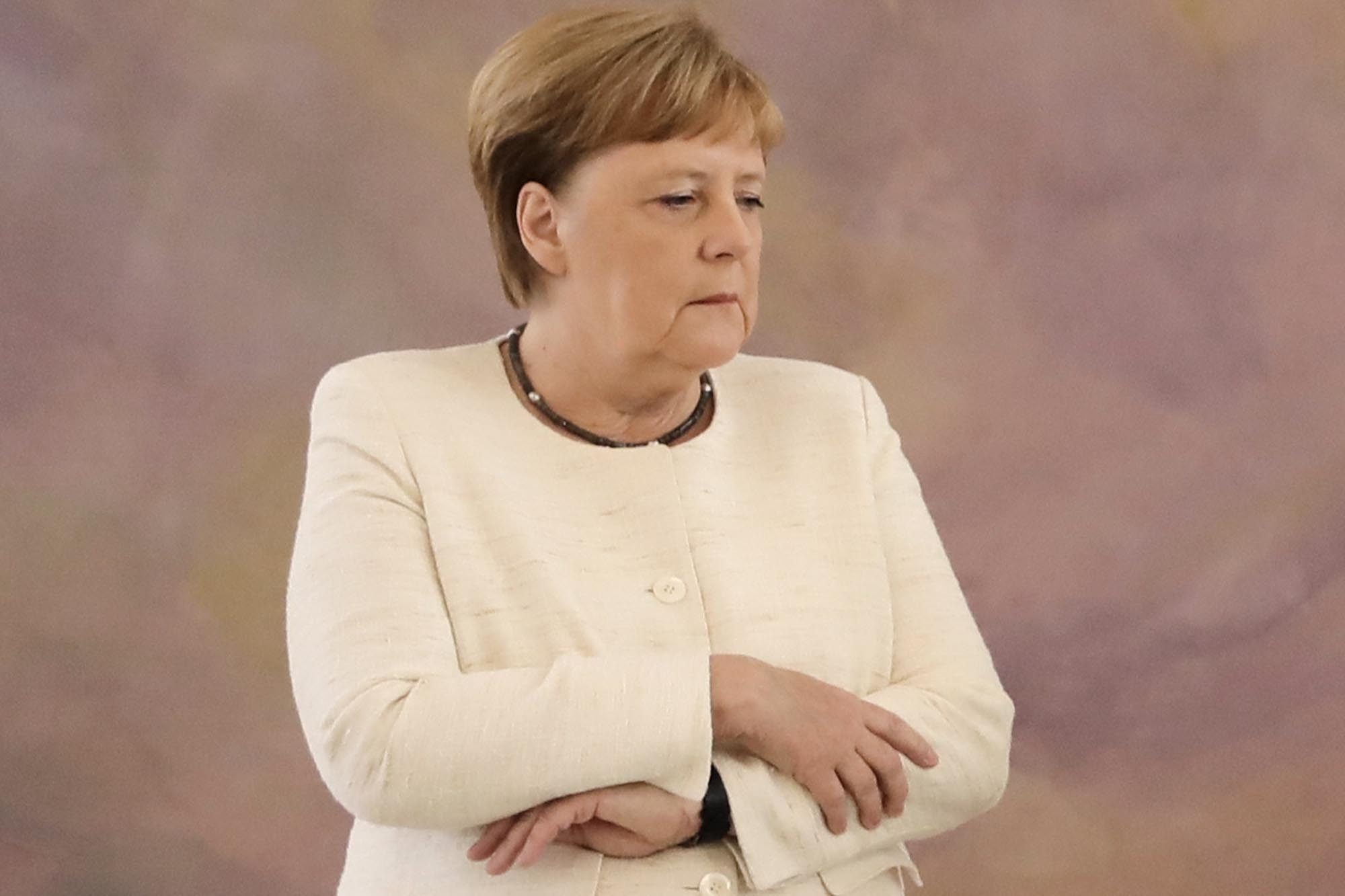 Germany S Angela Merkel Renews Health Concerns With Second Shaking Incident