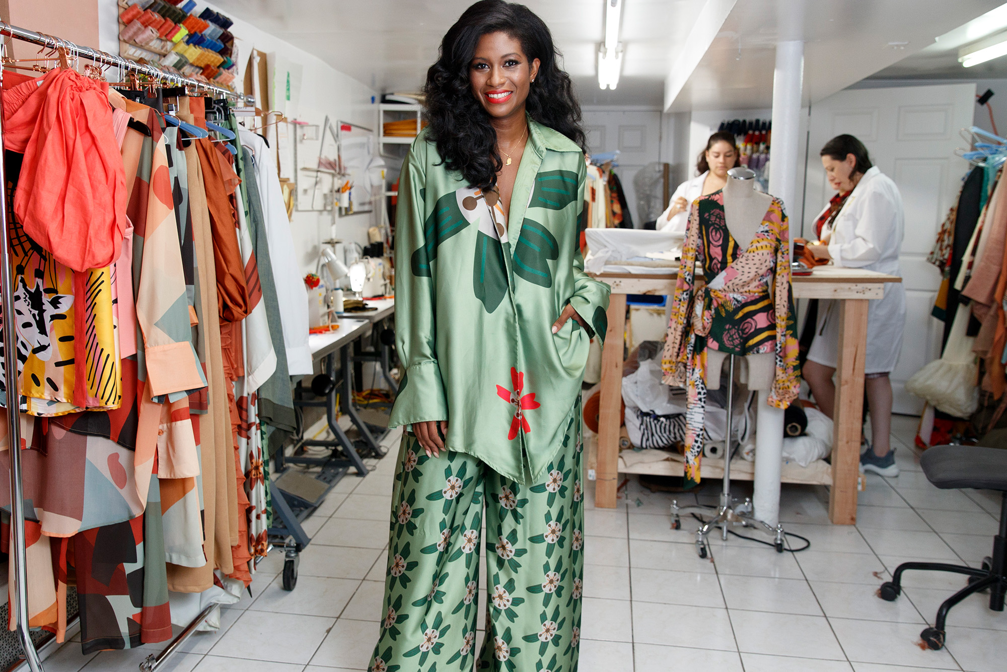 Meet The Fashion Designer To The Stars Working Out Of Her Mother S Brooklyn Basement